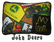John Deere Tooth Fairy Pillow with Pocket for Boys